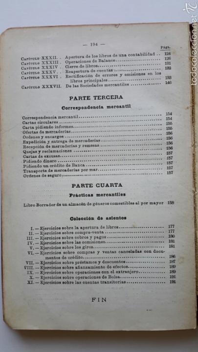 Libros antiguos: G. M. Bruño. Contabilidad y Prácticas Mercantiles. - Foto 4 - 57604364