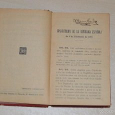 Libros antiguos: REVISTA DE LOS TRIBUNALES - LEGISLACIÓN ELECTORAL - EDITORIAL GONGORA - AÑO 1933 - 5ª EDICIÓN. Lote 57796245
