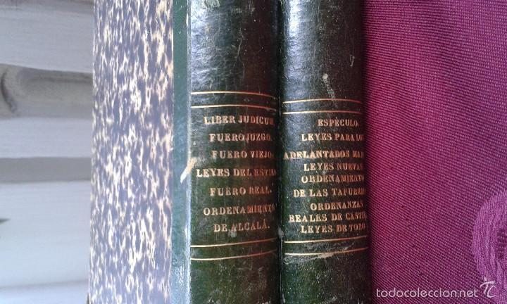 Libros antiguos: LOS CODIGOS ESPAÑOLES CONCORDADOS Y ANOTADOS ,TOMOS 1 Y 6,AÑO 1847 Y 1849 - Foto 3 - 57872001