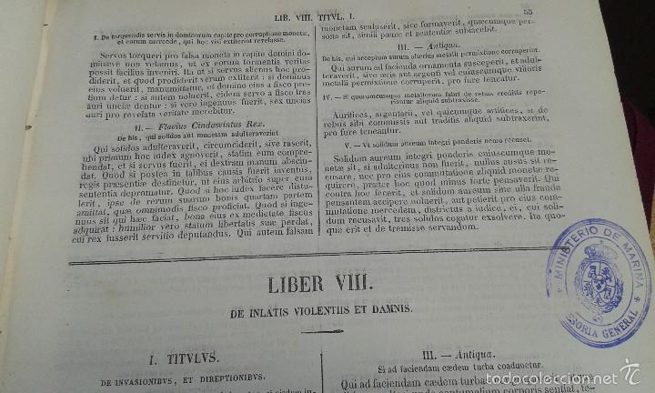 Libros antiguos: LOS CODIGOS ESPAÑOLES CONCORDADOS Y ANOTADOS ,TOMOS 1 Y 6,AÑO 1847 Y 1849 - Foto 13 - 57872001