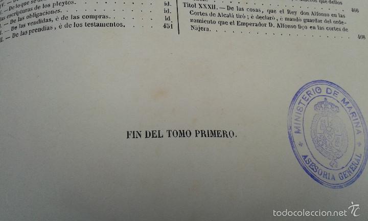 Libros antiguos: LOS CODIGOS ESPAÑOLES CONCORDADOS Y ANOTADOS ,TOMOS 1 Y 6,AÑO 1847 Y 1849 - Foto 15 - 57872001