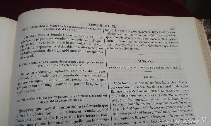 Libros antiguos: LOS CODIGOS ESPAÑOLES CONCORDADOS Y ANOTADOS ,TOMOS 1 Y 6,AÑO 1847 Y 1849 - Foto 16 - 57872001
