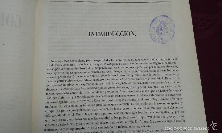 Libros antiguos: LOS CODIGOS ESPAÑOLES CONCORDADOS Y ANOTADOS ,TOMOS 1 Y 6,AÑO 1847 Y 1849 - Foto 22 - 57872001