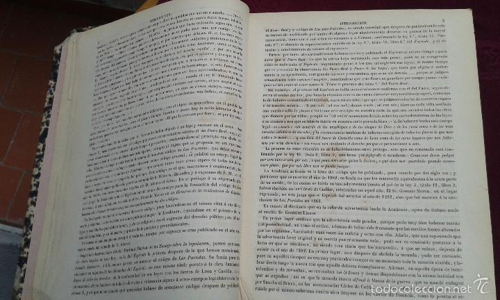 Libros antiguos: LOS CODIGOS ESPAÑOLES CONCORDADOS Y ANOTADOS ,TOMOS 1 Y 6,AÑO 1847 Y 1849 - Foto 24 - 57872001