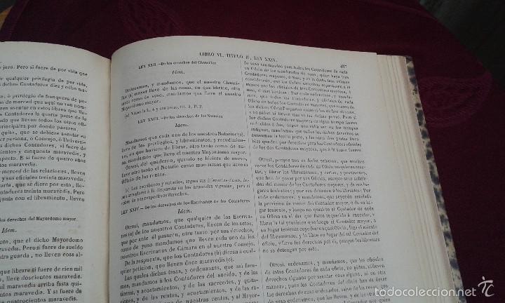 Libros antiguos: LOS CODIGOS ESPAÑOLES CONCORDADOS Y ANOTADOS ,TOMOS 1 Y 6,AÑO 1847 Y 1849 - Foto 27 - 57872001