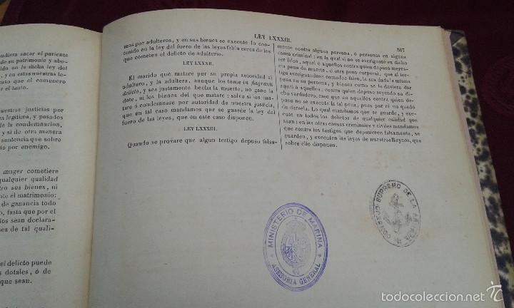 Libros antiguos: LOS CODIGOS ESPAÑOLES CONCORDADOS Y ANOTADOS ,TOMOS 1 Y 6,AÑO 1847 Y 1849 - Foto 29 - 57872001