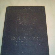 Libros antiguos: LEY DE ENJUICIAMIENTO CRIMINAL. Lote 58197780