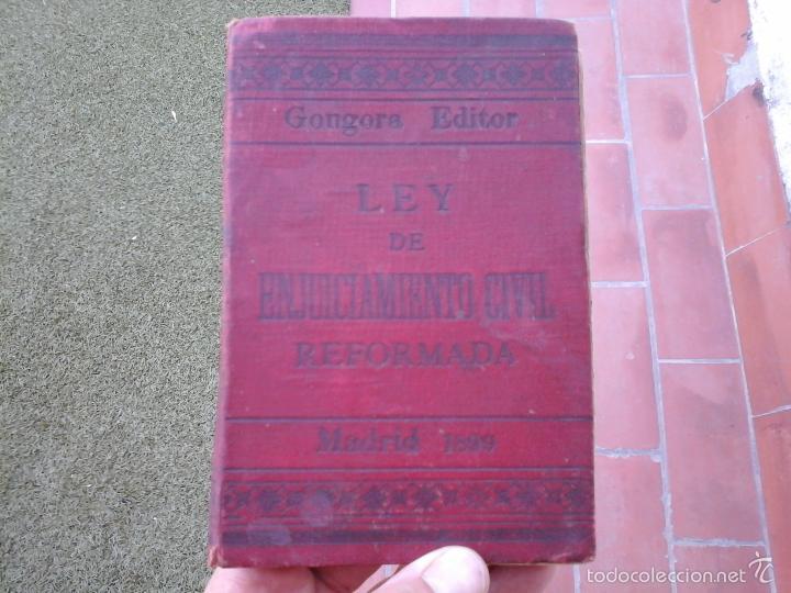 LIBRO ANTIGUO DE 1899 (Libros Antiguos, Raros y Curiosos - Ciencias, Manuales y Oficios - Derecho, Economía y Comercio)