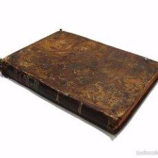Libros antiguos: GARRIGA ,JOSEF-LIBRO TAPAS PIEL CONTINUACION Y SUPLEMENTO DEL PRONTUARIO DE D.SEVERO AGUIRRE 1.804. Lote 58687135