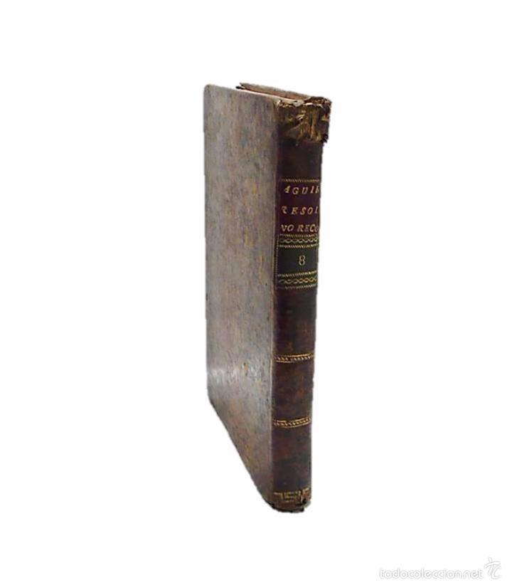 Libros antiguos: GARRIGA ,JOSEF-LIBRO TAPAS PIEL CONTINUACION Y SUPLEMENTO DEL PRONTUARIO DE D.SEVERO AGUIRRE 1.804 - Foto 3 - 58687135