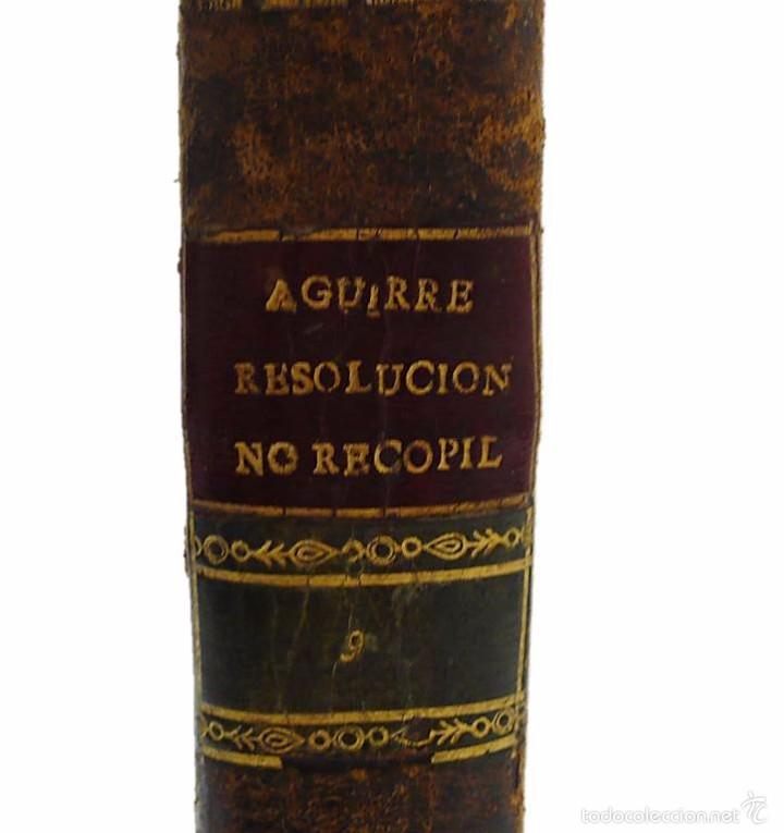 Libros antiguos: GARRIGA ,JOSEF-LIBRO TAPAS PIEL CONTINUACION Y SUPLEMENTO DEL PRONTUARIO DE D.SEVERO AGUIRRE 1.805 - Foto 3 - 58687151