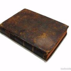 Libros antiguos: GARRIGA ,JOSEF-LIBRO TAPAS PIEL CONTINUACION Y SUPLEMENTO DEL PRONTUARIO DE D.SEVERO AGUIRRE 1.801. Lote 58687352