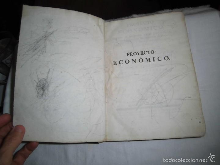 Libros antiguos: BERNARDO WARD.PROYECTO ECONOMICO EN QUE SE PROPONEN VARIAS PROVIDENCIAS DIRIGIDAS A PROMOVER.1782. - Foto 4 - 58870956