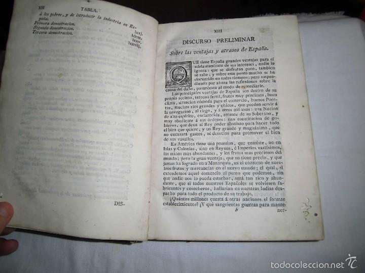 Libros antiguos: BERNARDO WARD.PROYECTO ECONOMICO EN QUE SE PROPONEN VARIAS PROVIDENCIAS DIRIGIDAS A PROMOVER.1782. - Foto 8 - 58870956