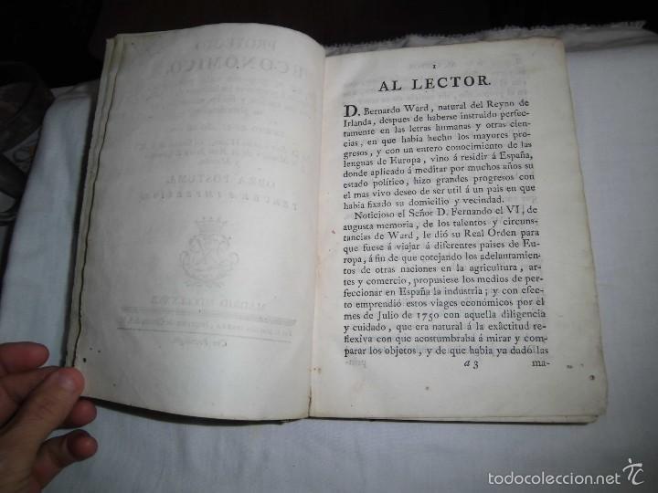 Libros antiguos: BERNARDO WARD.PROYECTO ECONOMICO EN QUE SE PROPONEN VARIAS PROVIDENCIAS DIRIGIDAS A PROMOVER.1782. - Foto 10 - 58870956