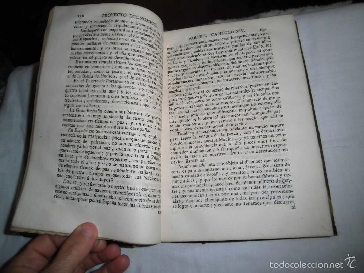 Libros antiguos: BERNARDO WARD.PROYECTO ECONOMICO EN QUE SE PROPONEN VARIAS PROVIDENCIAS DIRIGIDAS A PROMOVER.1782. - Foto 28 - 58870956