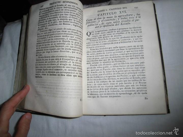 Libros antiguos: BERNARDO WARD.PROYECTO ECONOMICO EN QUE SE PROPONEN VARIAS PROVIDENCIAS DIRIGIDAS A PROMOVER.1782. - Foto 31 - 58870956