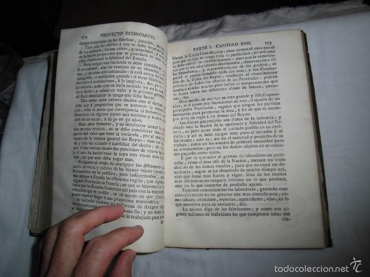 Libros antiguos: BERNARDO WARD.PROYECTO ECONOMICO EN QUE SE PROPONEN VARIAS PROVIDENCIAS DIRIGIDAS A PROMOVER.1782. - Foto 32 - 58870956