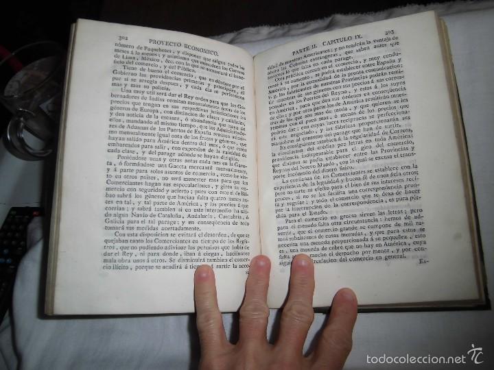 Libros antiguos: BERNARDO WARD.PROYECTO ECONOMICO EN QUE SE PROPONEN VARIAS PROVIDENCIAS DIRIGIDAS A PROMOVER.1782. - Foto 35 - 58870956
