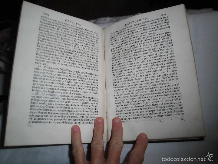 Libros antiguos: BERNARDO WARD.PROYECTO ECONOMICO EN QUE SE PROPONEN VARIAS PROVIDENCIAS DIRIGIDAS A PROMOVER.1782. - Foto 36 - 58870956