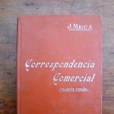 Libros antiguos: MECA TUDELA, J. FORMULARIO DE CORRESPONDENCIA COMERCIAL FRANCÉS-ESPAÑOL : ... (MANUALES SOLER ; 50). Lote 59568091