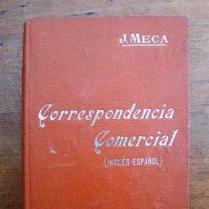 Libros antiguos: MECA TUDELA, J. FORMULARIO DE CORRESPONDENCIA COMERCIAL INGLÉS-ESPAÑOL : ... (MANUALES SOLER ; 53). Lote 59568383