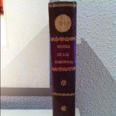 Libros antiguos: LA VOZ DE LA NATURALEZA SOBRE EL ORIGEN DE LOS GOBIERNOS.. Lote 59663011