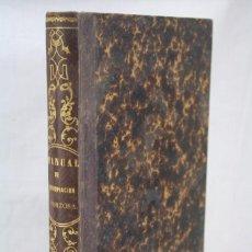Libros antiguos: MANUAL DE ESPROPIACIÓN / EXPROPIACIÓN FORZOSA POR CAUSA DE UTILIDAD PÚBLICA. F. MADRAZO - AÑO 1861. Lote 60228819