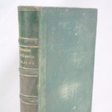 Libros antiguos: LIBRO TEORÍA Y PRÁCTICA DE LA REDACIÓN DE INSTRUMENTOS PÚBLICOS. ZARZOSO Y VENTURA - JUAN GUIX, 1874. Lote 60250343