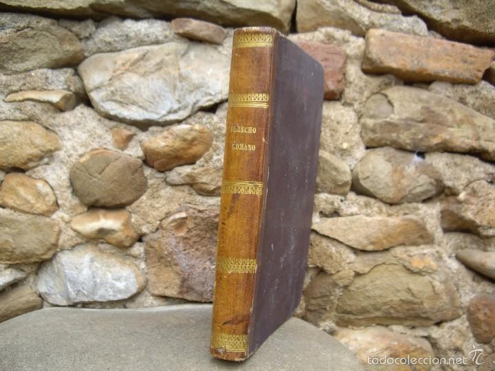 Libros antiguos: J. Heineccio: ELEMENTOS DEL DERECHO ROMANO, Impr. Pedro Sanz y Sanz 1842 Madrid - Foto 2 - 60533491