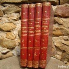 Libros antiguos: PEDRO N.VIVES: USAGES Y DEMÁS DERECHOS DE CATALUÑA, 4 TOMOS 1861 - 1863. Lote 61814860