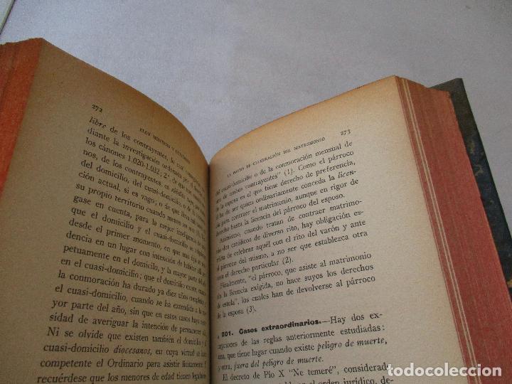 Libros antiguos: EL MATRIMONIO Y LAS CAUSAS MATRIMONIALES, ELOY MONTERO Y GUTIÉRREZ-SEGUNDA EDICIÓN-1930-LIBRERÍA - Foto 3 - 62030916