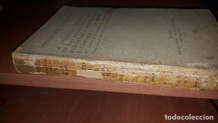 Libros antiguos: La politica criminal en las legislaciones europeas y norteamericanas, por luis jimenez de asua, 1918 - Foto 2 - 64942607