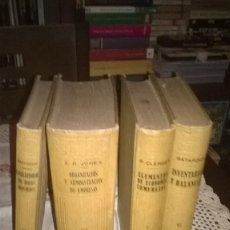 Libros antiguos: EL CONTABLE MODERNO, 1930, 4 TOMOS, . Lote 65895466