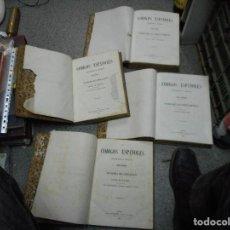 Libros antiguos: LOTE 4 TOMOS LOS CODIGOS ESPAÑOLES FECHADOS EN 1847 Y 1850 MUY BUEN EASTADO. Lote 65906154