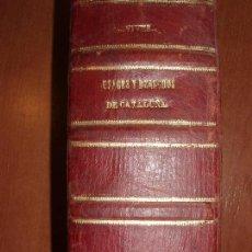 Libros antiguos: USAGES Y DEMÁS DERECHOS DE CATALUÑA. POR PEDRO NOLASCO. OBRA COMPLETA 1493 PAG. AÑO 1861. Lote 66933490