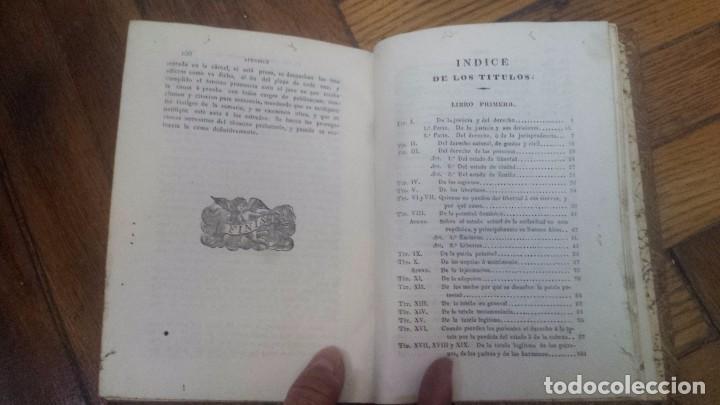 Libros antiguos: Instituciones de Derecho Real De España (1834) Adicionadas con apéndices, etc. por Dalmacio Vélez - Foto 2 - 67542189