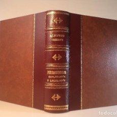 Libros antiguos: FERROCARRILES. EXPLOTACIÓN Y LEGISLACIÓN. IMEDIO, ALFONSO. IMPRENTA SÁEZ HERMANOS, MADRID, 1934. . Lote 68227681