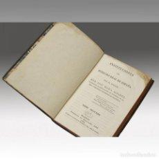 Libros antiguos: INSTITUCIONES DE DERECHO REAL DE ESPAÑA. Lote 54238277