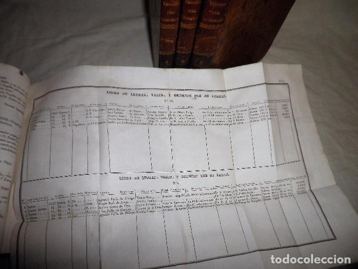 Libros antiguos: TESORO DEL COMERCIO - AÑO 1837 - COMERCIO MUNDIAL·EN PIEL. - Foto 4 - 71248379
