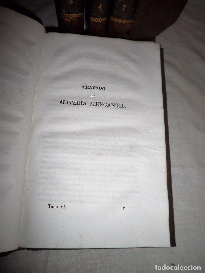 Libros antiguos: TESORO DEL COMERCIO - AÑO 1837 - COMERCIO MUNDIAL·EN PIEL. - Foto 5 - 71248379