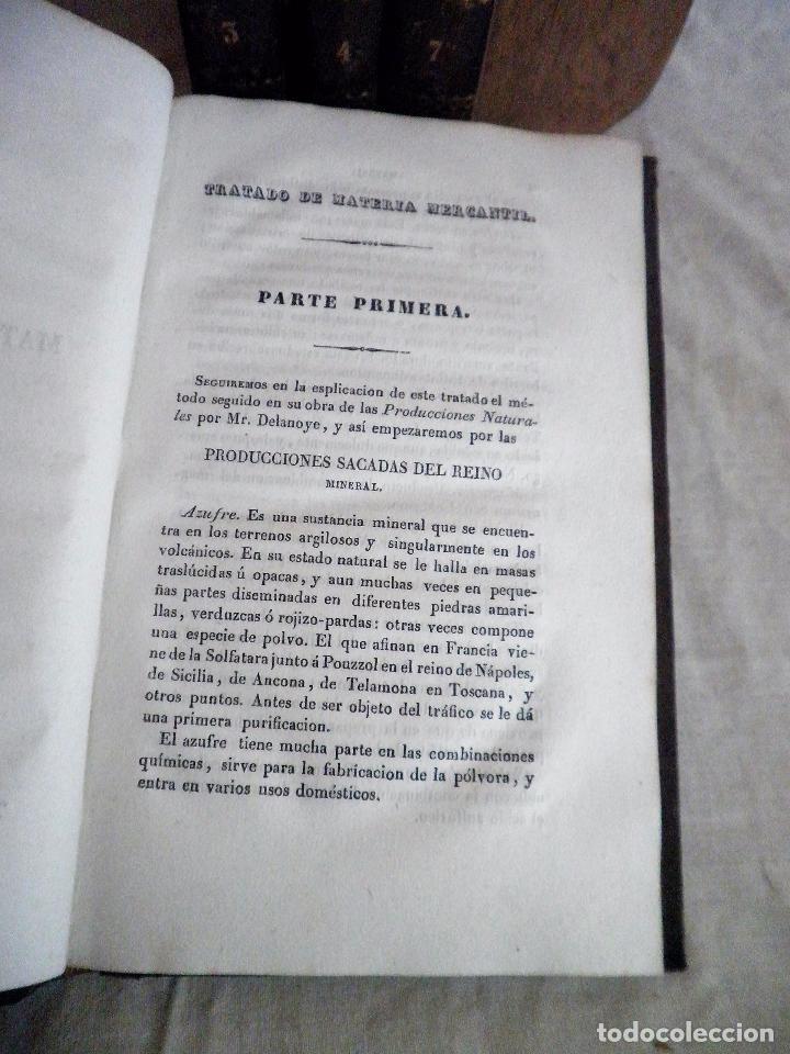 Libros antiguos: TESORO DEL COMERCIO - AÑO 1837 - COMERCIO MUNDIAL·EN PIEL. - Foto 6 - 71248379