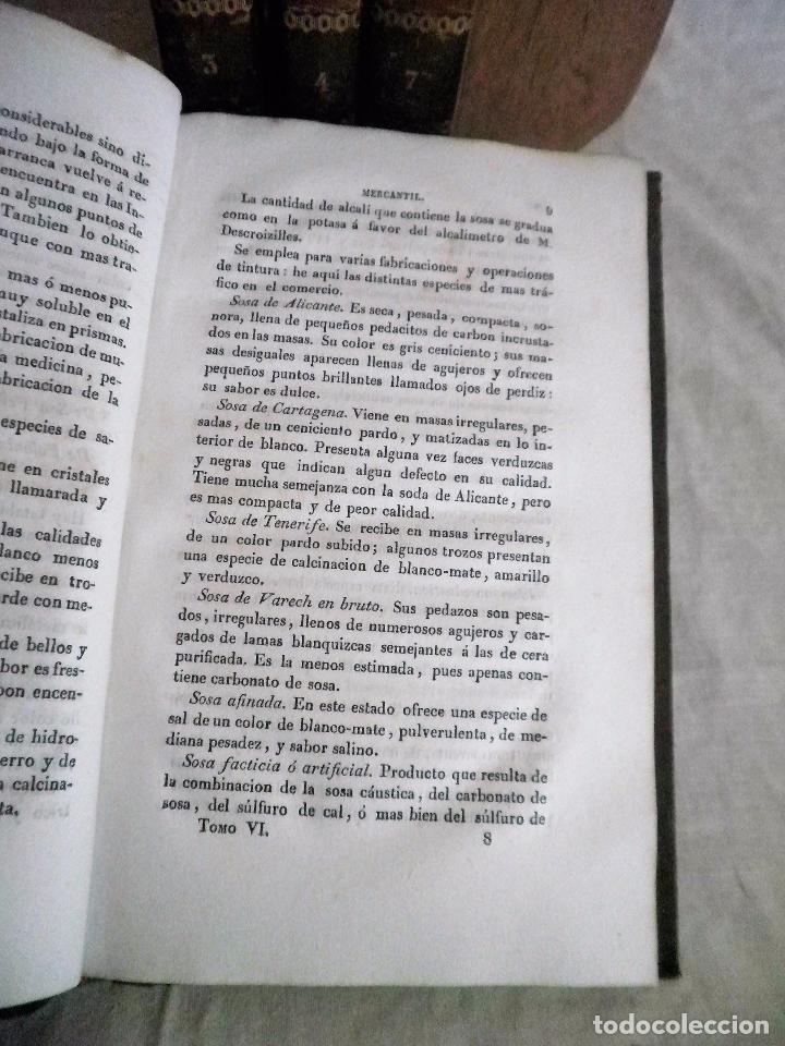 Libros antiguos: TESORO DEL COMERCIO - AÑO 1837 - COMERCIO MUNDIAL·EN PIEL. - Foto 7 - 71248379