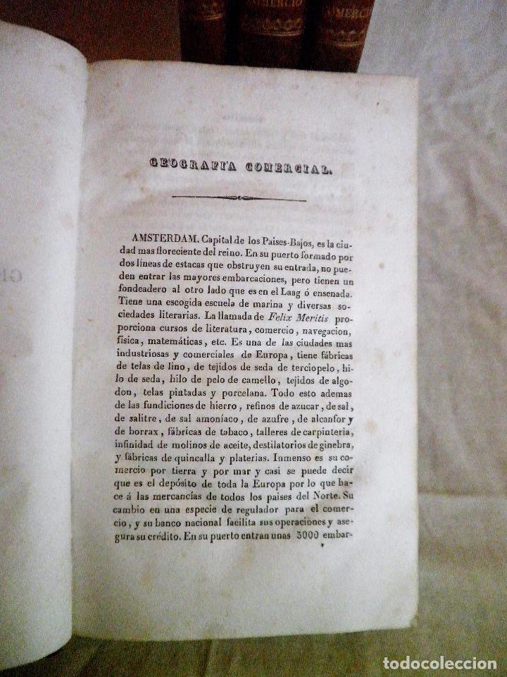Libros antiguos: TESORO DEL COMERCIO - AÑO 1837 - COMERCIO MUNDIAL·EN PIEL. - Foto 9 - 71248379