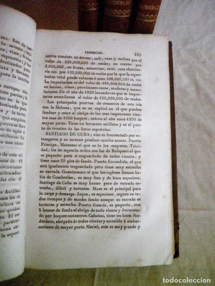 Libros antiguos: TESORO DEL COMERCIO - AÑO 1837 - COMERCIO MUNDIAL·EN PIEL. - Foto 10 - 71248379