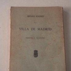 Libros antiguos: ORDENANZAS MUNICIPALES DE LA VILLA DE MADRID - AÑO 1909. Lote 71555359