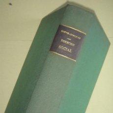 Libros antiguos: DERECHO SOCIAL - MARTIN GRANIZO / GONZALEZ ROTHVOSS - EDITORIAL REUS, 1935 (TAPA DURA, BUEN ESTADO). Lote 71642683