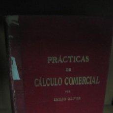Libros antiguos: PRACTICAS DE CALCULO COMERCIAL AL ALCANCE DE TODOS LUIS TASSO.. Lote 72111479