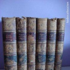 Libros antiguos: BIBLIOTECA LEGISLACION ULTRAMARINA. EN FORMA DE DICCIONARIO, ZAMORA Y CORONADO, 1844-149, EX-LIBRIS. Lote 72876283