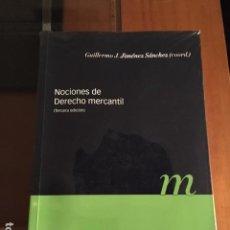 Libros antiguos: NOCIONES DE DERECHO MERCANTIL - MARCIAL PONS. Lote 73434263